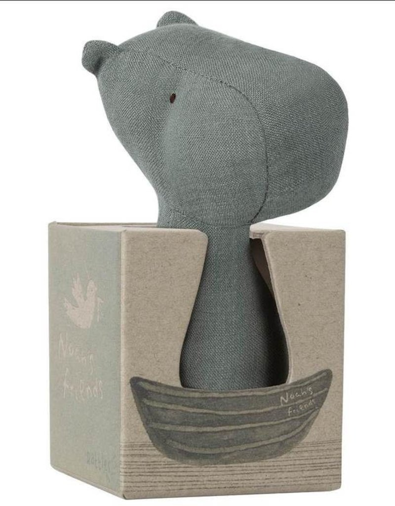 Maileg Rattle Hippo