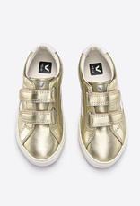 VEJA gouden velcro schoen Junior