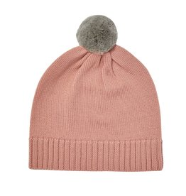 FUB Pompom Hat blush