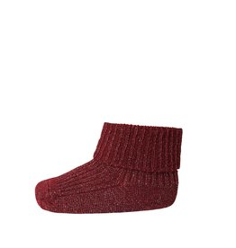 Mp. Denmark Ankle socks ida bordeaux glitter