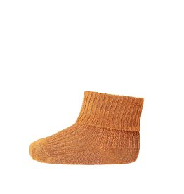 Mp. Denmark Ankle socks ida oker glitter