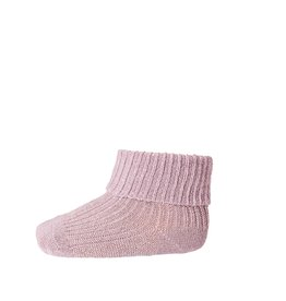 Mp. Denmark Ankle socks ida mauve glitter