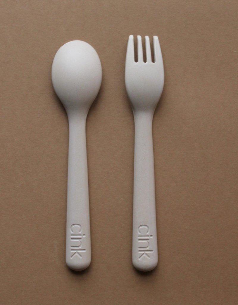 Cink Bamboo cutlery set, fog