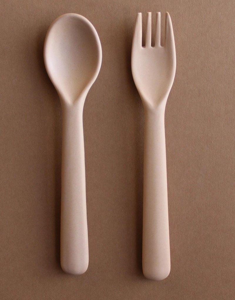 Cink Bamboo cutlery set, rye
