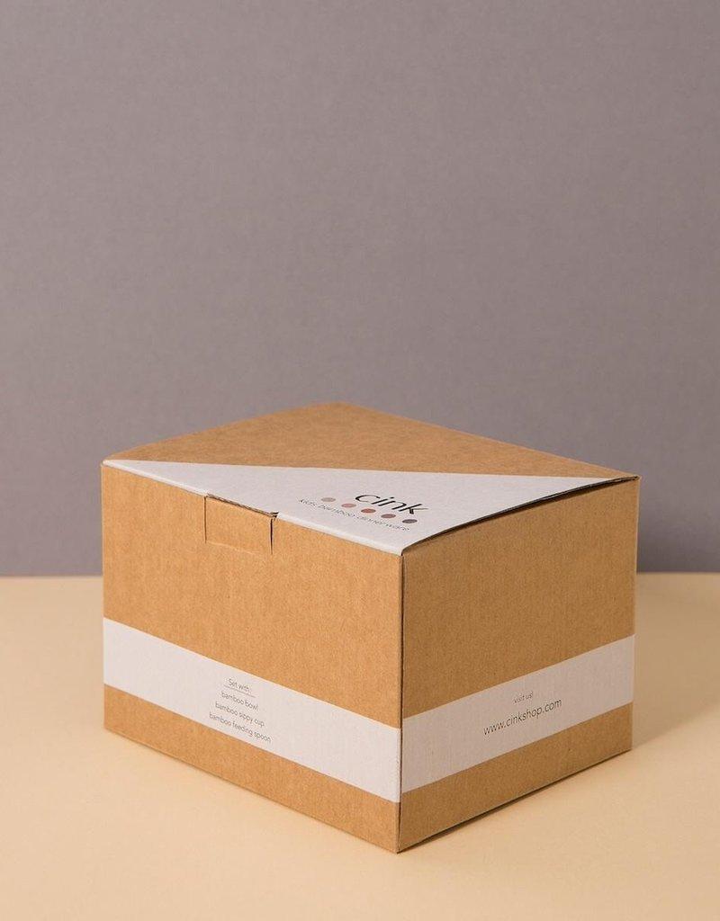 Cink bamboo giftbox for babies, rye