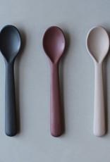Cink Bamboo toddler spoon 3-pack , fog/beet/ocean