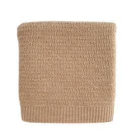 Hvid Blanket dora / Sand