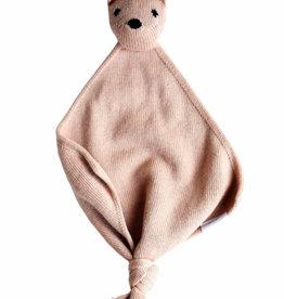Hvid Teddy tokki blush