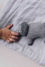 Main sauvage Elephant soft toy, grey