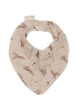 Main sauvage Bib scarf, rabbits / one size