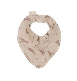 Main sauvage Bib scarf, rabbits / one size