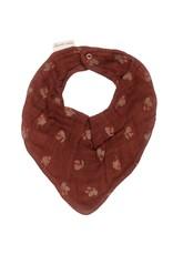 Main sauvage Bib scarf, hawthorns / one size
