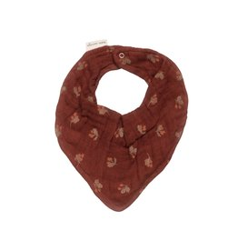 Main sauvage Bib scarf, hawthorns / one size
