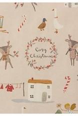 Maileg Giftwrap, cosy Christmas, 10 m