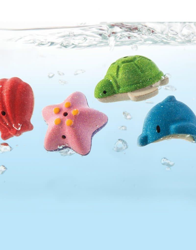 Plan toys sea life bath set