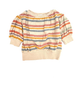 Long Live The Queen Terry ss sweater stripe