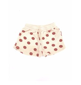 Long Live The Queen Terry shorts brown dots