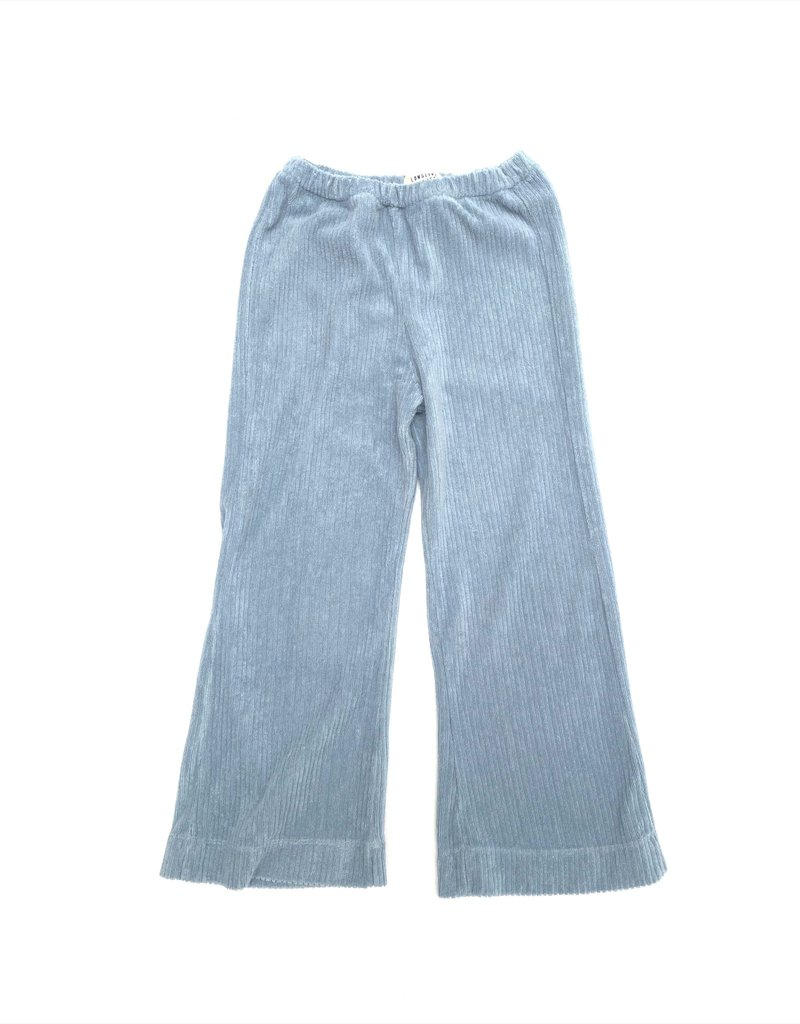 Long Live The Queen Ribbed terry pants cloud
