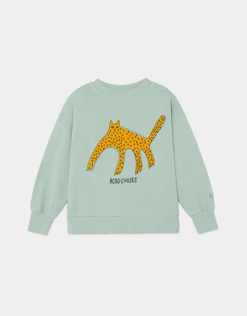 Bobo Choses Leopard sweatshirt