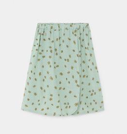Bobo Choses All over daisy wrap midi skirt