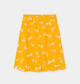 Bobo Choses All over bow wrap midi skirt