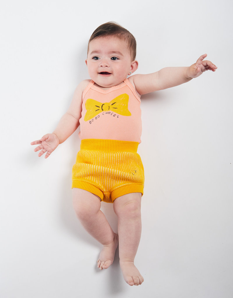 Bobo Choses Bow sleeveless body