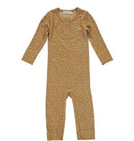 MarMar Copenhagen Leopard suit - pumpkin pie