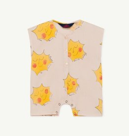 the Animals Observatory Goose baby jumpsuit rose suns