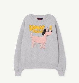 the Animals Observatory Bear kids sweatshirt grey blue dog