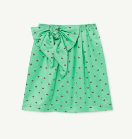 the Animals Observatory Silky swan kids skirt turquoise flowers