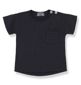 1+ in the family Short sleeve t-shirt blue notte