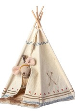 Maileg Little feather w. tent, little sister mouse