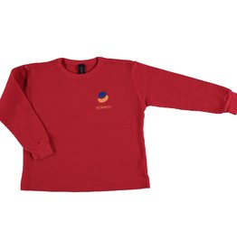 Bonmot T-shirt long leeve paint embrodery