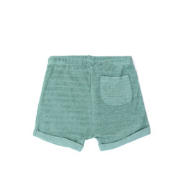 Phil & Phae Striped frotté shorts