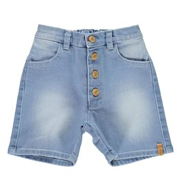 Piupiuchick Boys shorts washed blue jeans