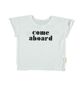 Piupiuchick T-shirt - Off-white w/ black print