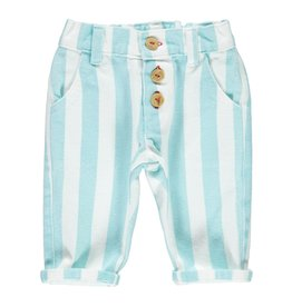 Piupiuchick Unisex trousers - Light blue stripes baby (coming soon)