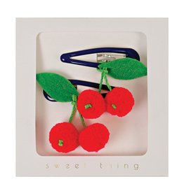 Meri Meri Cherry hair clips