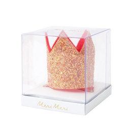 Meri Meri Pink crown hair clip