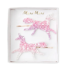 Meri Meri Unicorn glitter hairslides
