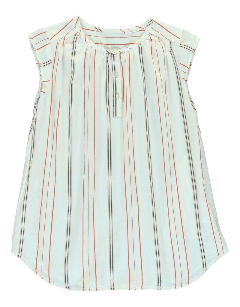 Dorélit Cyllene woven stripe chili pyjama
