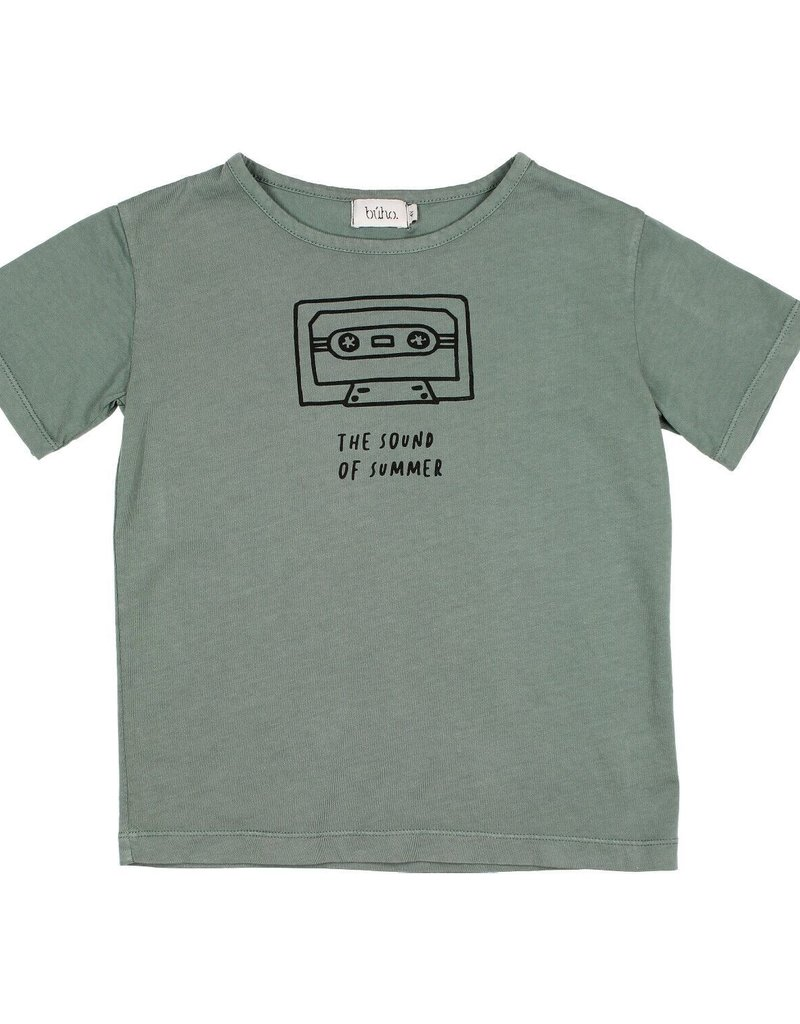 Búho. Leo sound of summer t-shirt