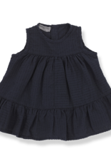 1+ in the family Orio dress blue notte