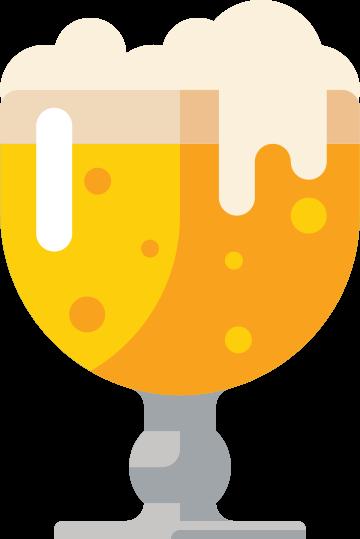 kelk bierglas