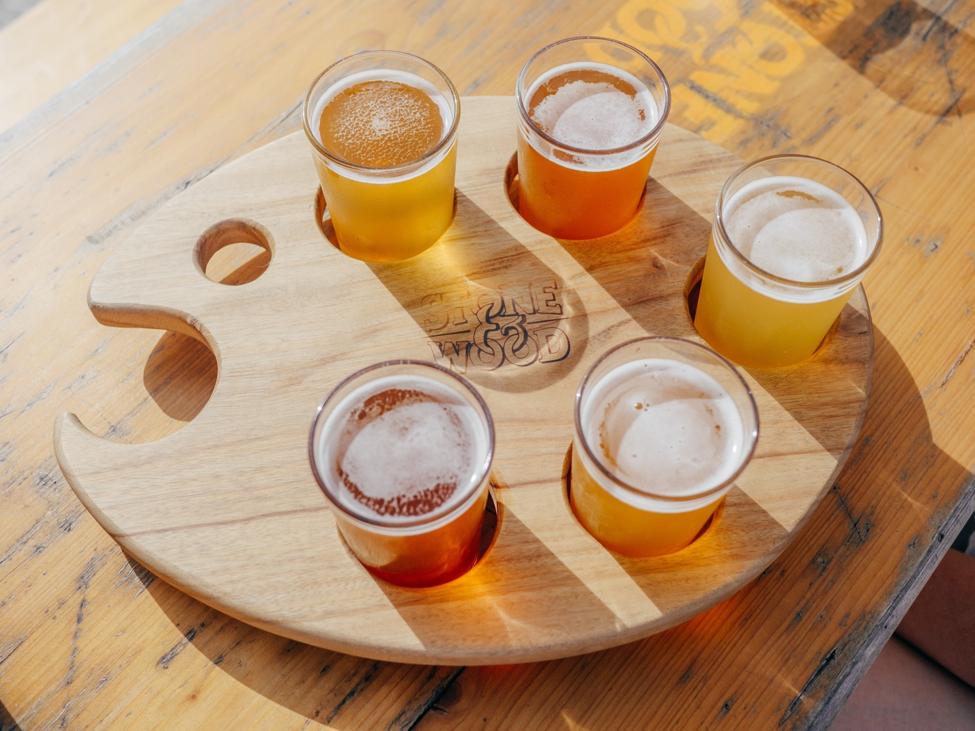 Door de glazen het bier niet meer zien [bierglazen 2/3]