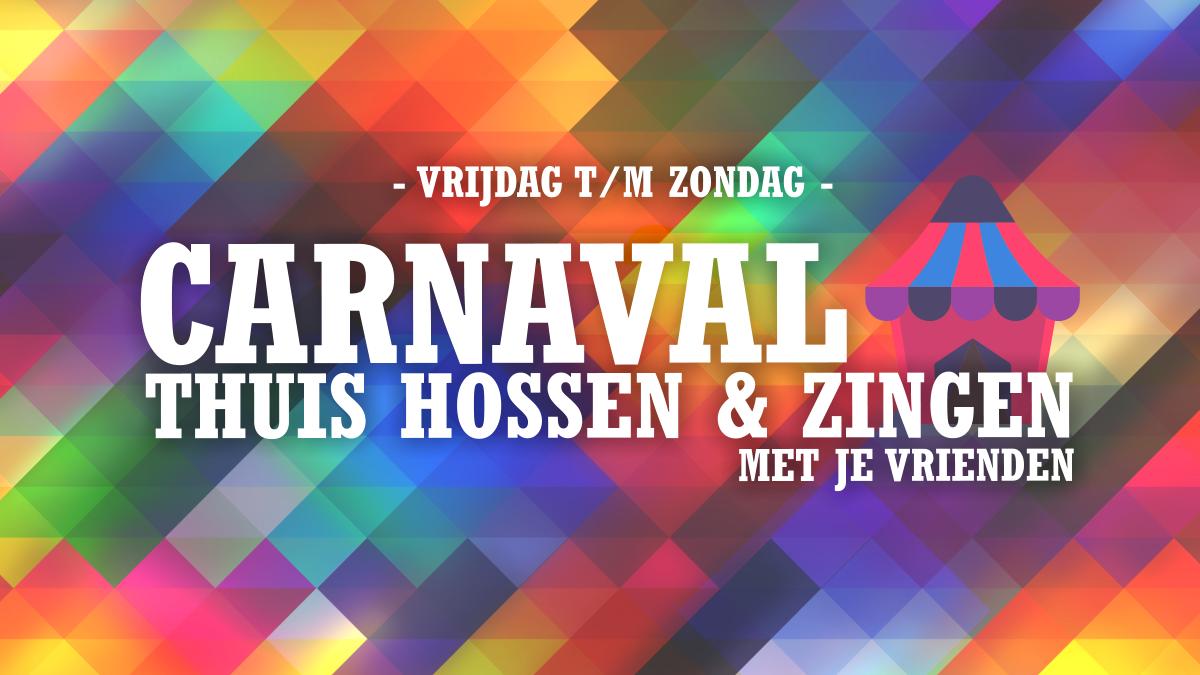Carnaval 2021 Online vieren