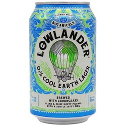 Lowlander 0,3% Cool earth lager