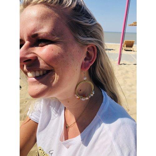 Candy Sweet Colour Beach Oorbellen