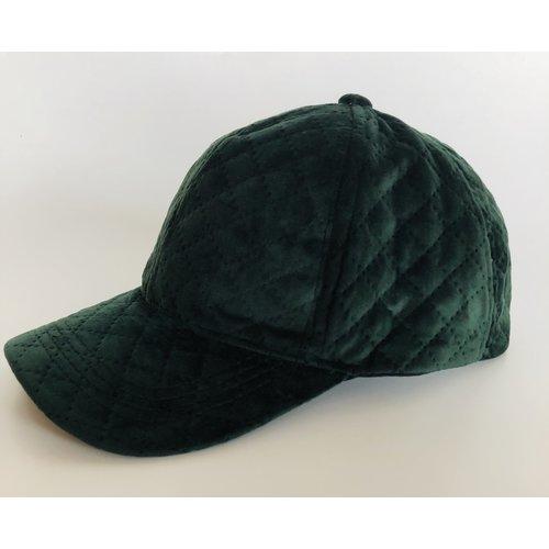 Juleeze Green Velvet Cap