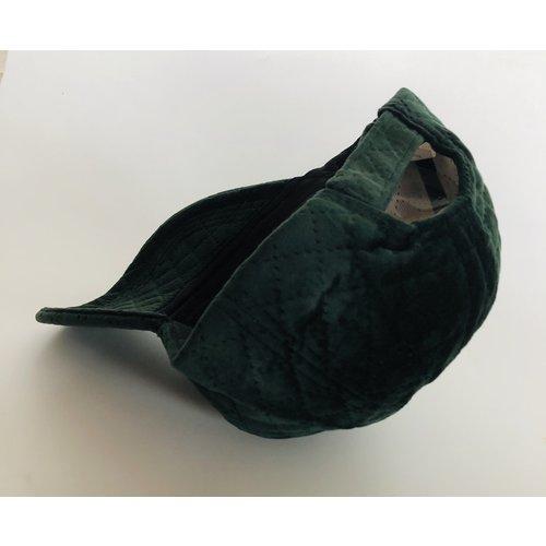 Green Velvet Cap